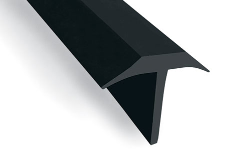 89289 - T-SHAPE: Rubber profile