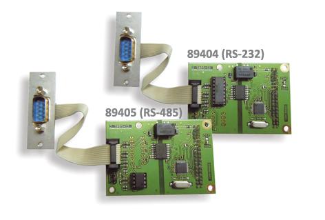 89404/89405 - Optischsolierter Kommunikationskanal RS-232/RS-485
