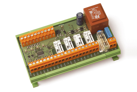 89319 - 4 Output Relays / 4 Inputs