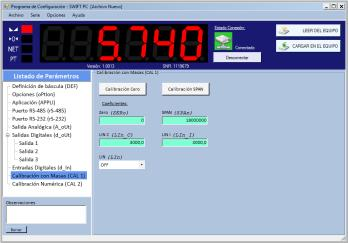 SWIFT PC – NUEVO SOFTWARE PARA LA CONFIGURACIÓN DEL INDICADOR SWIFT DESDE PC
