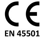 Certificado CE EN 45501